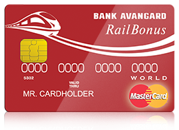 Кредитная карта Mastercard World Railbonus